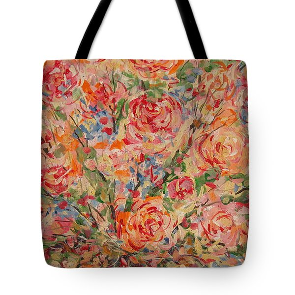Full Bouquet. Tote Bag