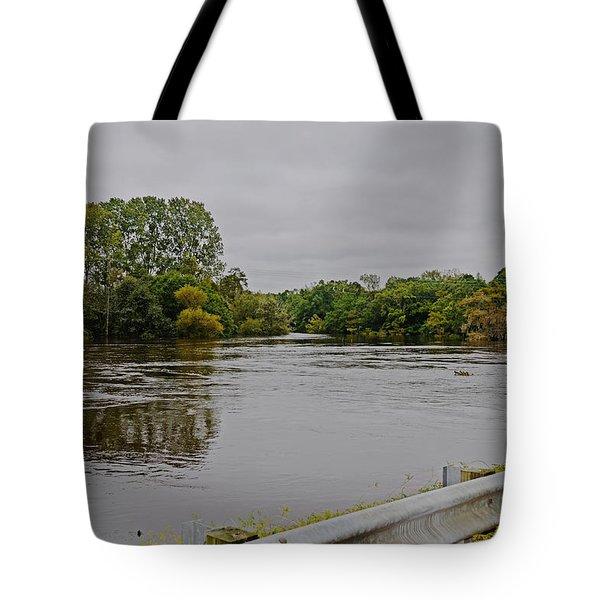 Full Flood Tote Bag by Linda Brown