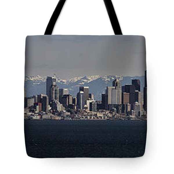 Full Frontal Seattle Tote Bag by James Heckt