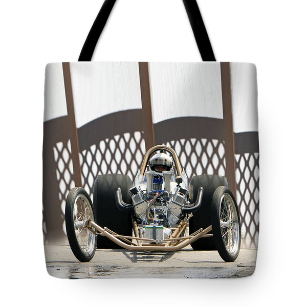 Full Frontal Slingshot Tote Bag
