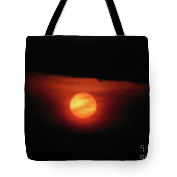 Full Harvest Moon Tote Bag