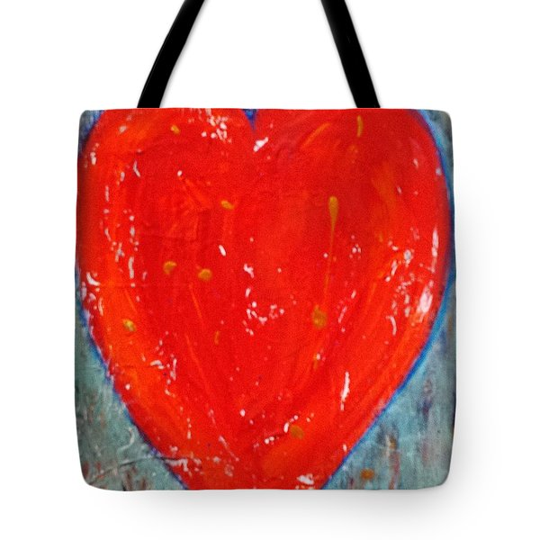 Full Heart Tote Bag by Diana Bursztein