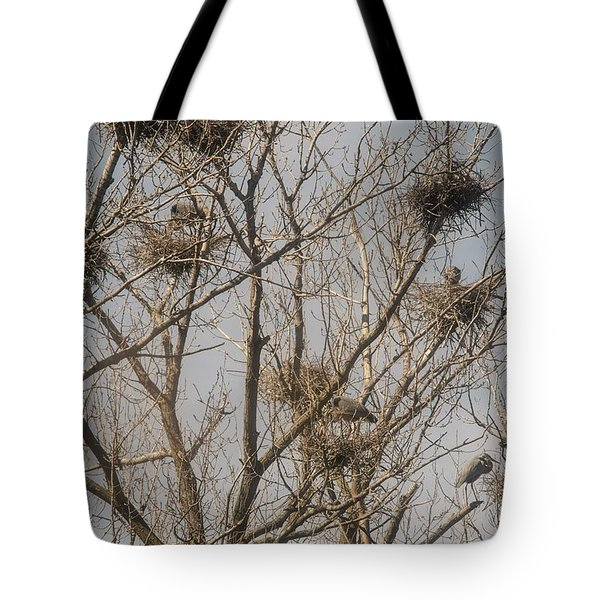 Tote Bag featuring the photograph Full House by David Bearden