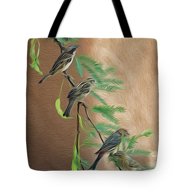 Tote Bag featuring the photograph Full House Op17 by Mark Myhaver