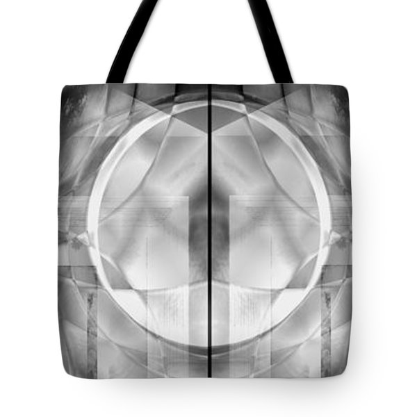 Tote Bag featuring the digital art Full Moon by Art Di