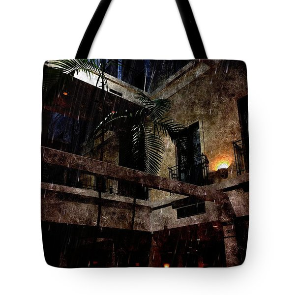 Full Moon At Tremont Toujouse Bar Tote Bag by Karl Reid