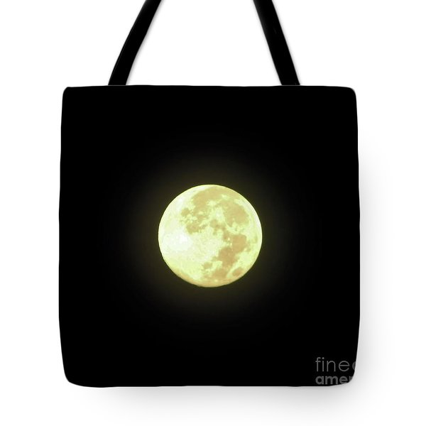 Full Moon August 2014 Tote Bag
