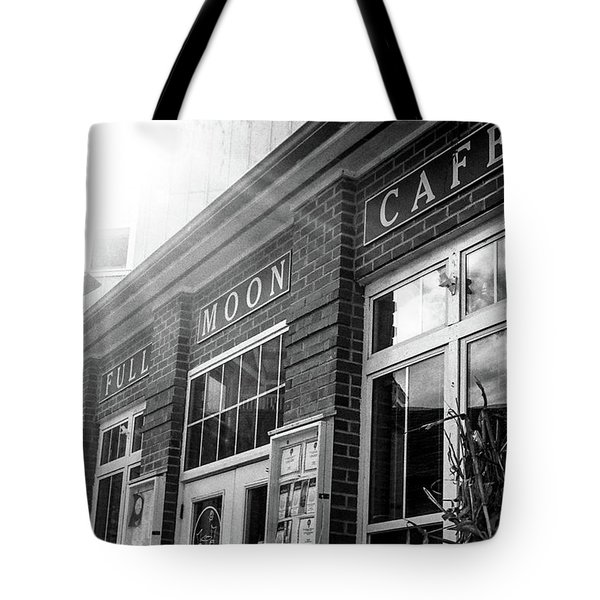 Full Moon Cafe Tote Bag
