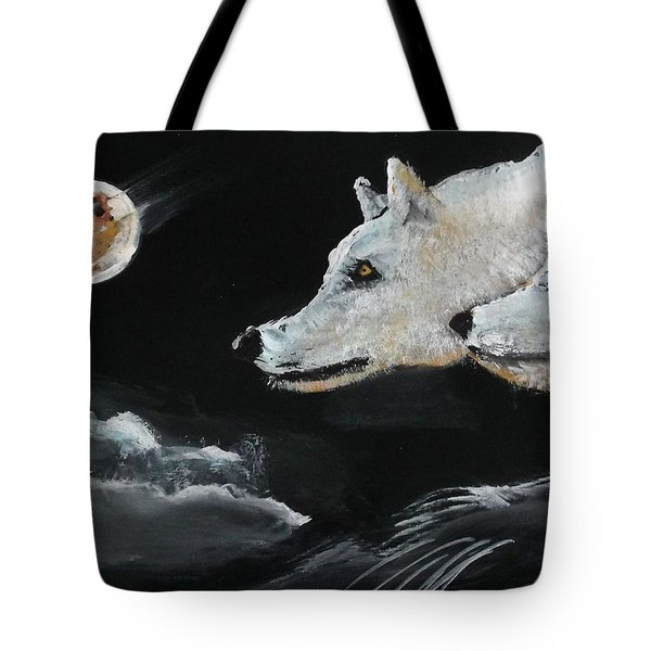 Full Moon Tote Bag by Carole Robins