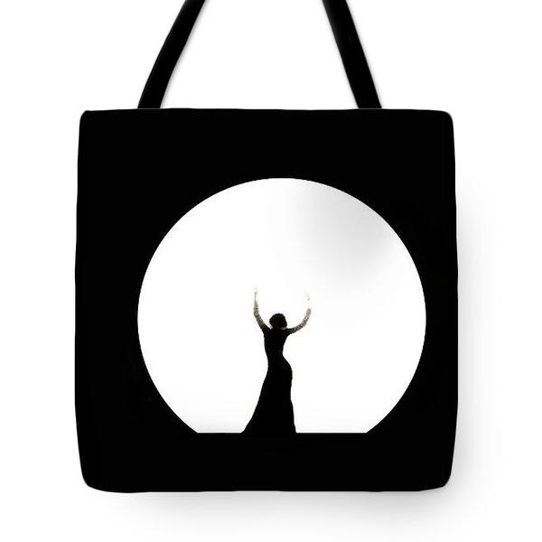 Full Moon Dance Tote Bag
