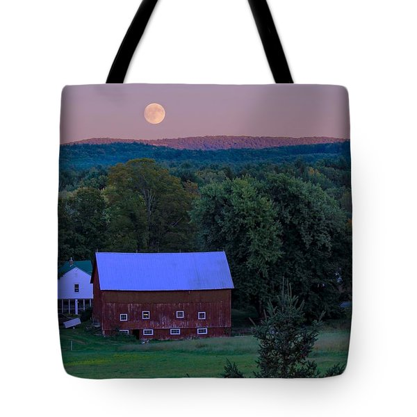 Full Moon From High Street Tote Bag
