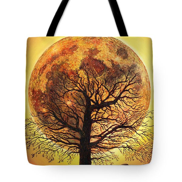 Full Moonrise. Tote Bag
