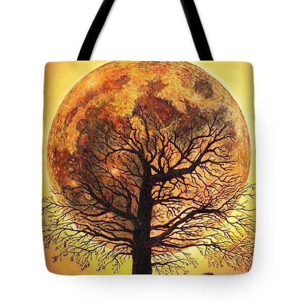 Full Moonrise. Tote Bag