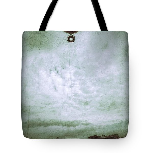 Full Of Hot Air Tote Bag