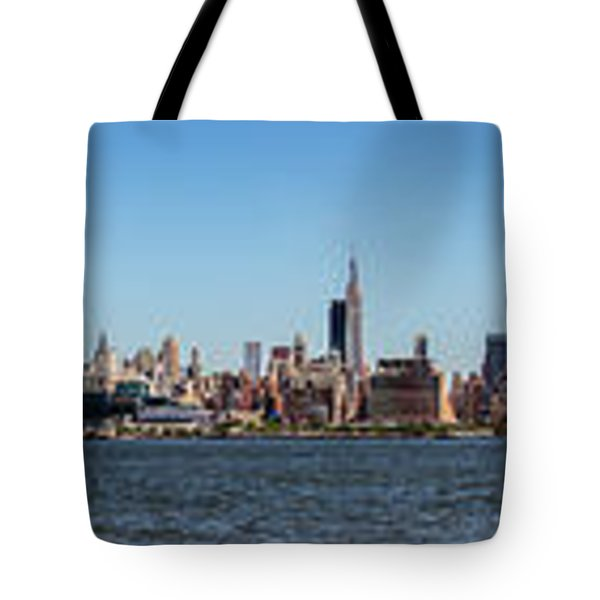 Full On New Yourk Tote Bag by James Heckt