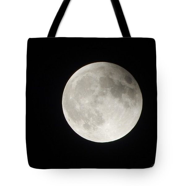 Full Planet Moon Tote Bag