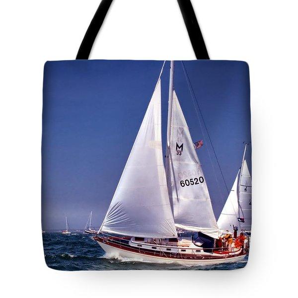 Full Sail Ahead Tote Bag