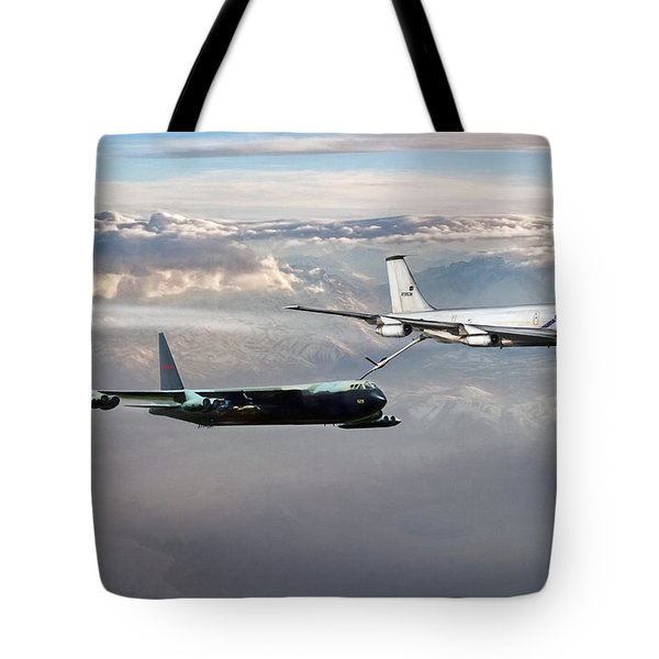 Tote Bag featuring the digital art Full Service by Peter Chilelli