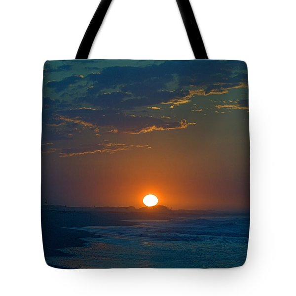 Tote Bag featuring the photograph Full Sun Up by  Newwwman