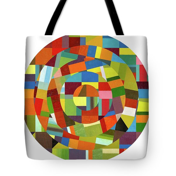 Tote Bag featuring the painting Full Tilt by Michelle Calkins