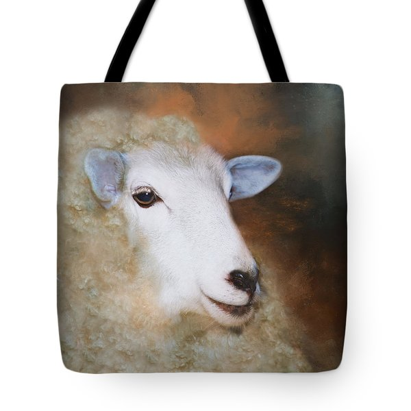 Tote Bag featuring the photograph Fully Woolly by Robin-Lee Vieira