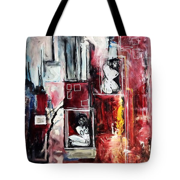 Fully Self-contained Tote Bag
