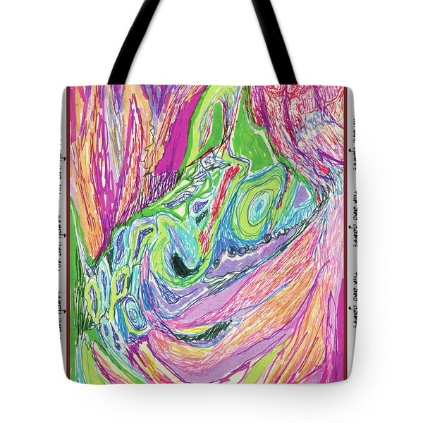 Fun And Games Tote Bag by Ruth Renshaw