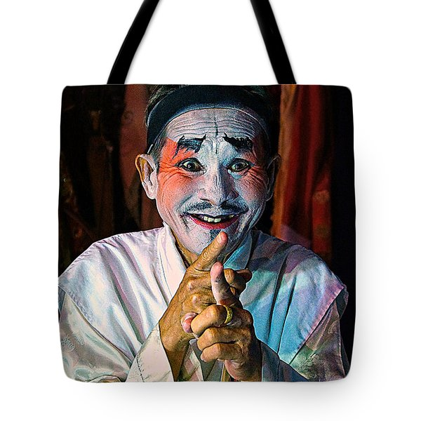 Fun At The Opera Tote Bag by Ian Gledhill