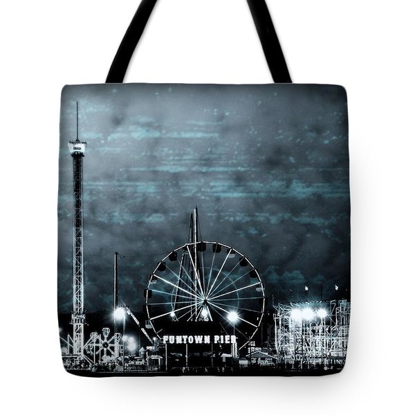 Fun In The Dark - Jersey Shore Tote Bag