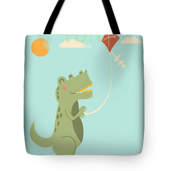 Fun Tote Bag by Nicole Wilson