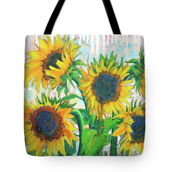 Funflowers Tote Bag
