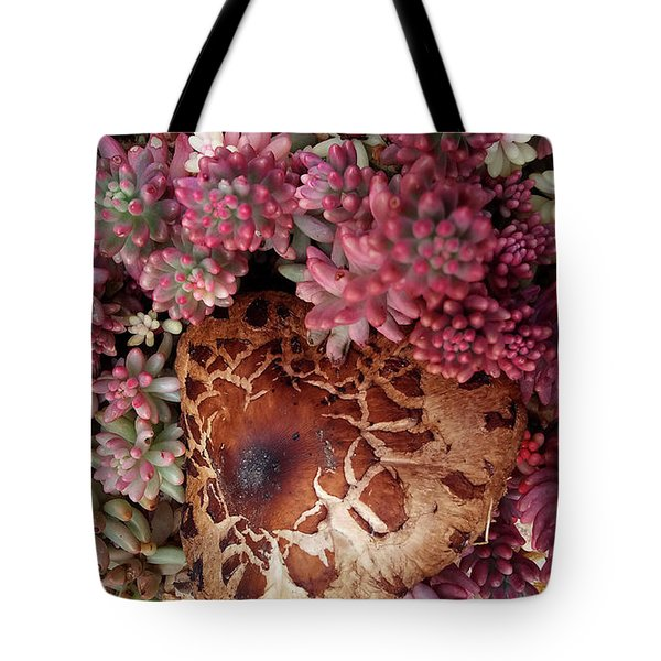 Fungus And Succulents Tote Bag