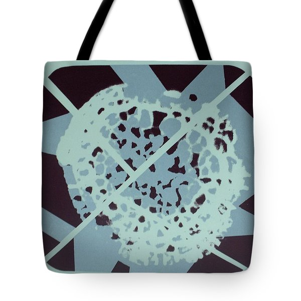 Tote Bag featuring the mixed media Fungus by Erika Chamberlin