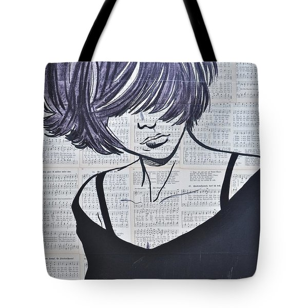 Funky And Free Tote Bag