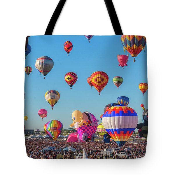 Funky Balloons Tote Bag