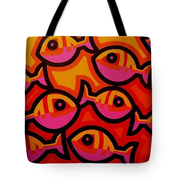 Funky Fish Iv Tote Bag