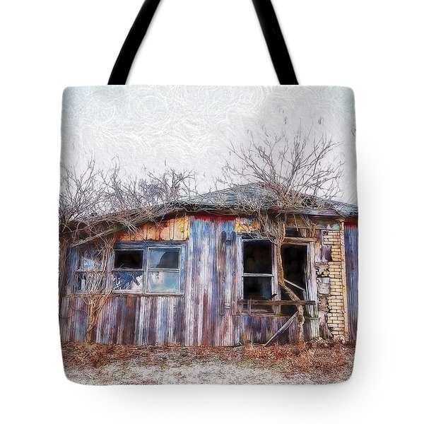 Funky Shack Tote Bag