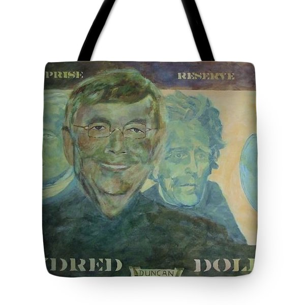 Funny Money Tote Bag