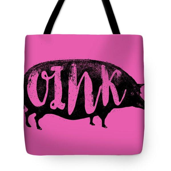 Funny Oink Pig Tote Bag