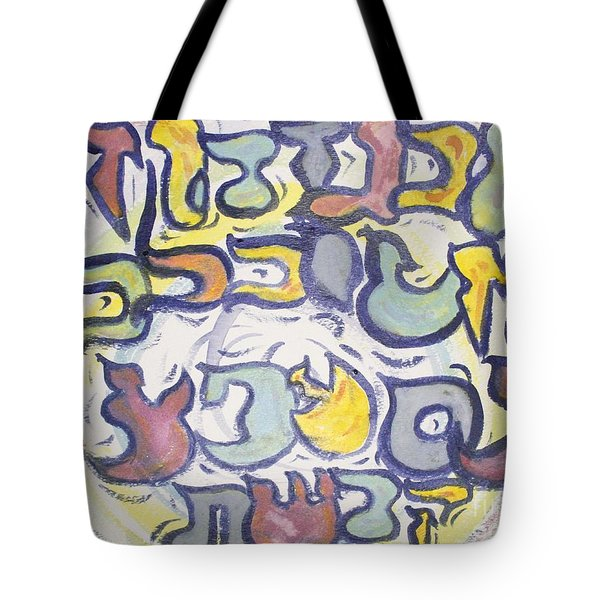 Funnzie Letters Tote Bag