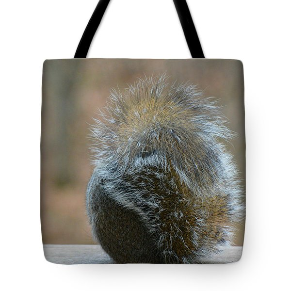 Tote Bag featuring the photograph Fur Ball by SimplyCMB