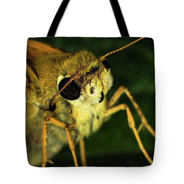 Fur Face Tote Bag