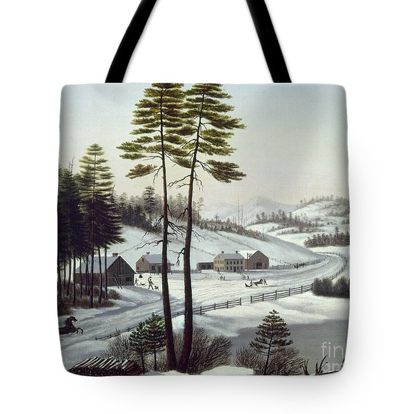 Furbishs Dash To Montreal Tote Bag by Granger