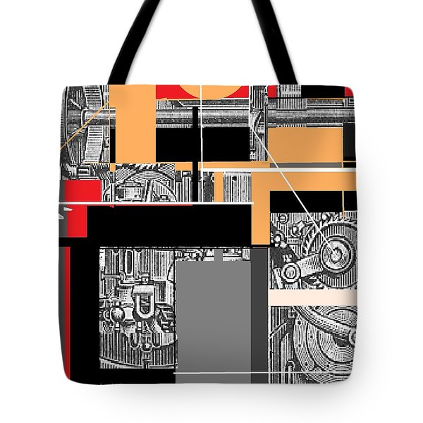 Furnace 2 Tote Bag by Andrew Drozdowicz