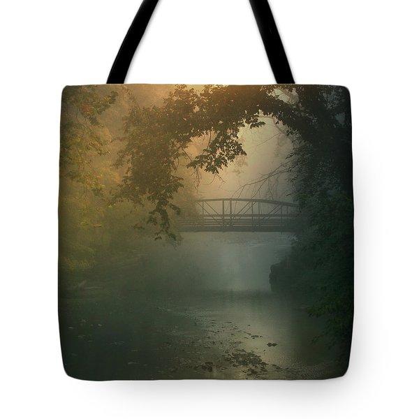 Furnace Run - Square Tote Bag