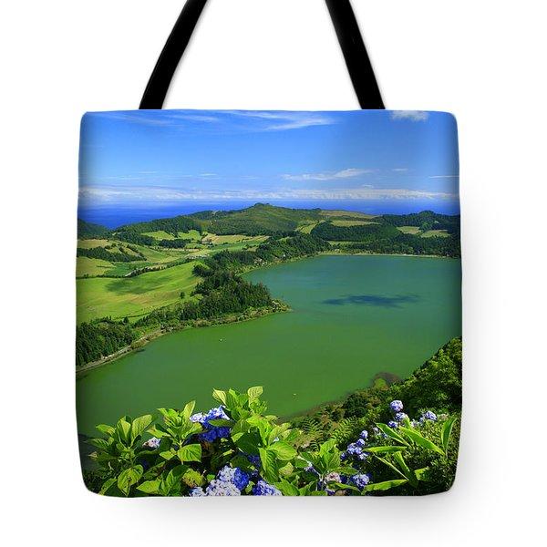 Furnas Lake Tote Bag by Gaspar Avila