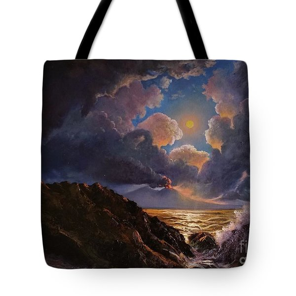 Tote Bag featuring the painting Furor by Rosario Piazza