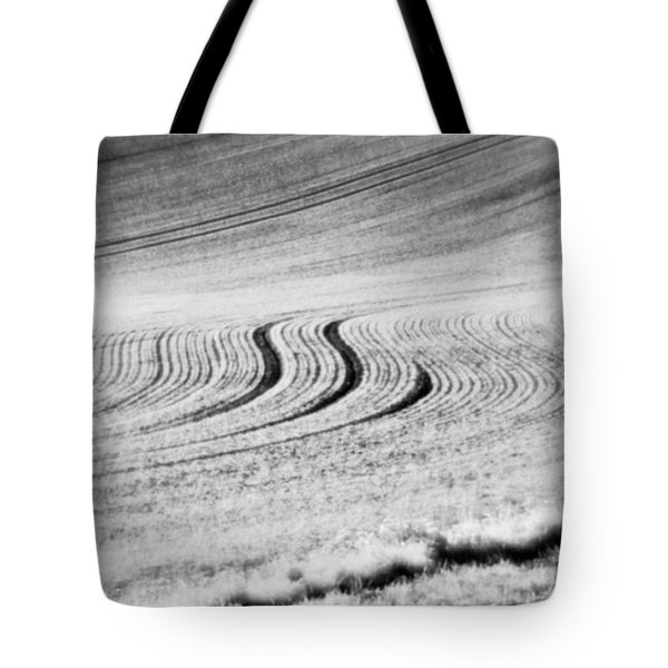Furrows  #monochrome Tote Bag