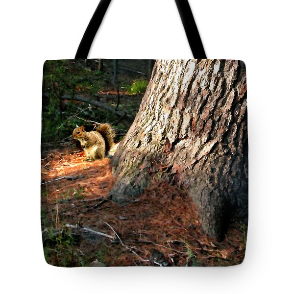Furry Neighbor Tote Bag by Paul Sachtleben
