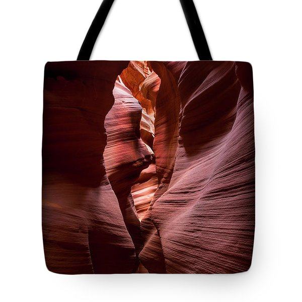 Further In The Canyon Tote Bag by Jon Glaser